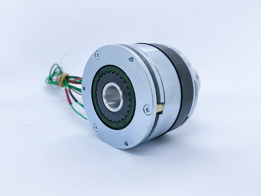 SG Transmission develops first of its kind hybrid permanent magnet and spring applied brake
